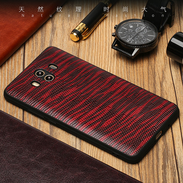 Lizard Pattern All-inclusive For Nokia Lumia 950 XL 950 650 640 XL 7 Plus 6 X6 Luxury Business Durable Phone Case