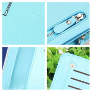 Long Zipper Purse Women Wallet Purse Phone Pocket Wallet Case For Huawei P20 Pro P7 P10 P20 Lite P9 Lite Mini P8 Lite 2017 Cover