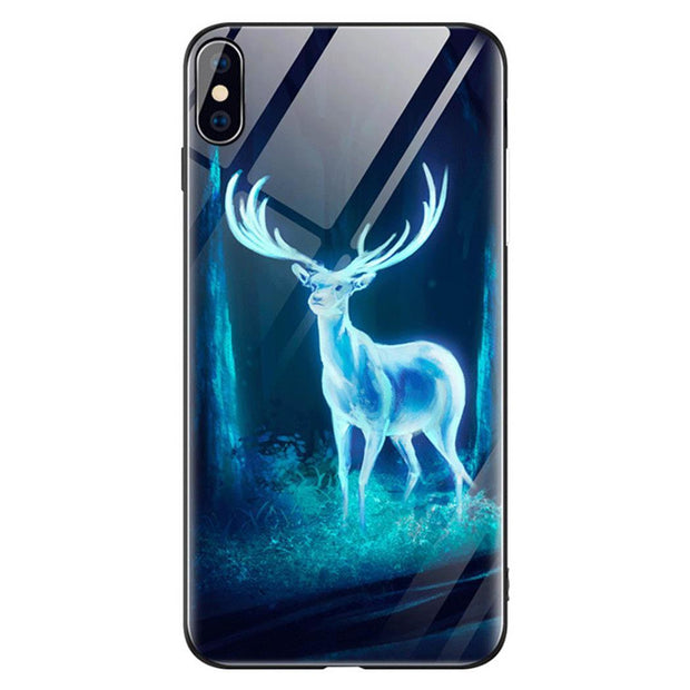 Luminous PC Phone Case Back Cover For IPhone X/XS/XR/XS Max Easy To Install And Take Off Luminous Phone Case Mobile