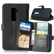 Luxury 9 Card Slots Wallet Phone Case For LG G2 D800 D801 D802 LS980 Magnetic Flip Leather Cover Stand Cases Coque Fundas Capa