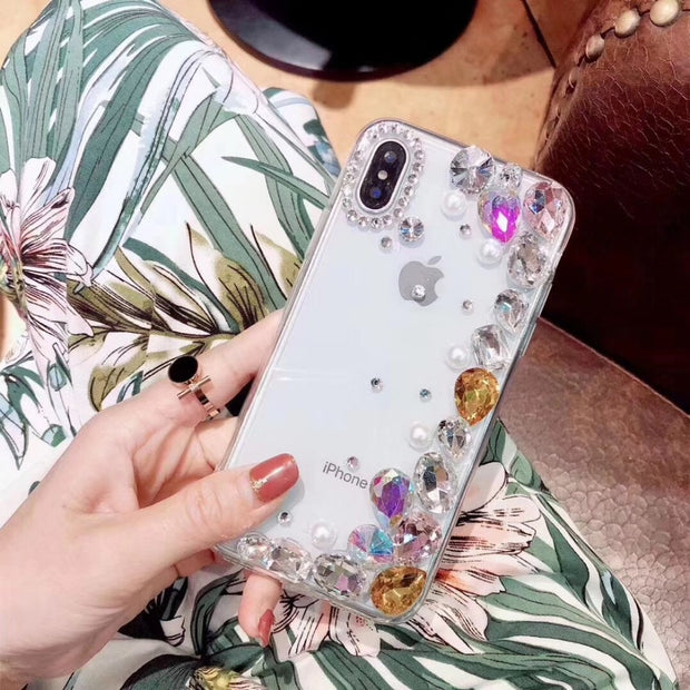 Luxury Bling Glitter Diamond Rhinestone For Redmi 3 3S 4 4A 4X 5 5A 5Plus Note 2 3 4 4X 5 5A Pro Phone Clear Crystal Cover Case