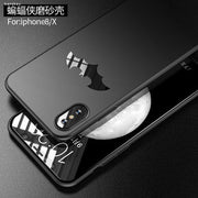 Luxury Case For Apple Iphone X Hard Plastic Slim Skin Matte Bat Protective Back Cover For IphoneX Full Cover Phone Shell
