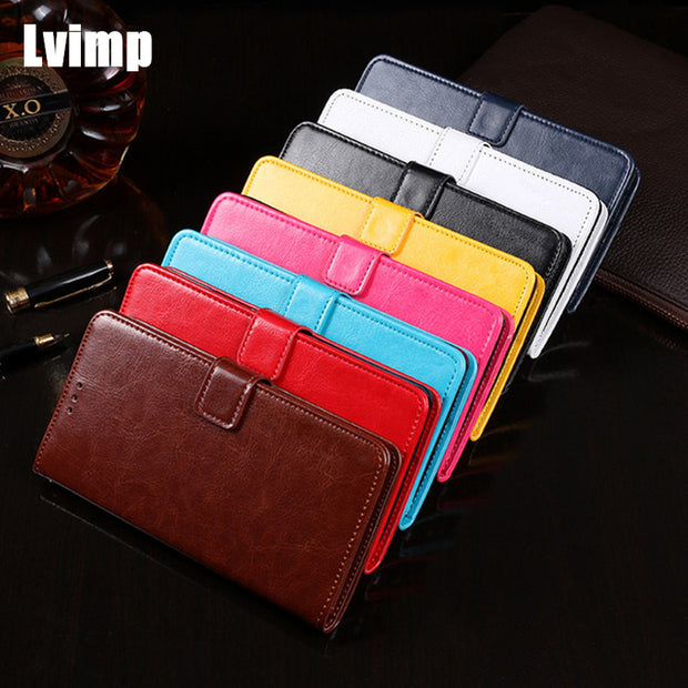 Luxury Flip PU Leather Case For Oukitel U18 Case 5.85 Inch Wallet Cover For Oukitel U 18 Case Stand Holder Phone Bags Cover