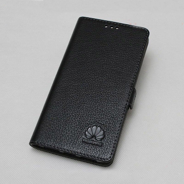 best website 6b54f d37bd Luxury Genuine Leather Case For Huawei Honor 10 Lite Flip Case Cover For  Huawei Honor 9i Case Capa