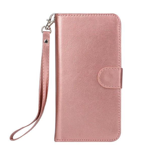 Luxury Girl Woman Phone Bag Bags Wallet Flip Leather Case For Apple IPhone 6 S 6s Plus Pouch 9 Card Slot Protective Shell