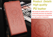 Luxury Retro Coque PTU Silicone Leather Case For HUAWEI P8 Lite Flip Cover For HUAWEI P8 Lite Wallet Phone Cellphone Cases