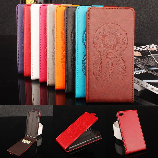 Luxury Retro Coque PTU Silicone Leather Case For Lenovo S60W Flip Cover For Lenovo S60 W Wallet Phone Cellphone Cases