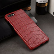 Luxury Honor View 10 Case Genuine Leather Phone Cases Cover For Huawei V10 Honor View10 Ultra Thin 3D Crocodile Skin Mobile Capa