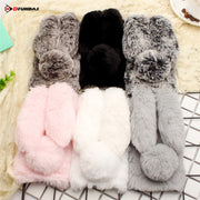 MDFUNDAS Rabbit Phone Bags Cases Honor 9 Case 360 Protector For Cover Huawei Honor 9 Shockproof Case Coque
