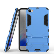 MEILAN X Case,AIPUWEI Robot Armor Slim Hard Plastic Back Cover Silicone Rubber Kickstand Phone Case For Meizu Meilan X Cover BAG