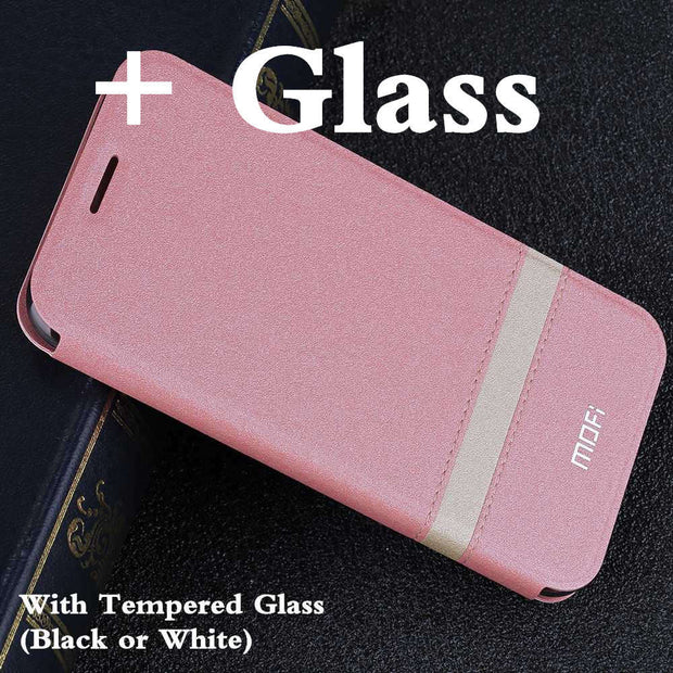 Pink with glass