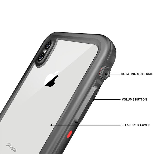 MUSTTRUE IP68 Waterproof Diving Snowproof Photograph Case For IPhone XS Max Protect Case Cover