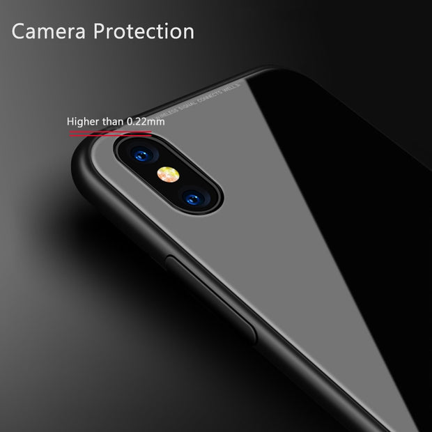 Magnetic Adosorption Case For Xiaomi Mi 8 8se Case Tempered Glass Back Hard Cover For Xiaomi 8 Se Capa Metal Bumper Clear Coque