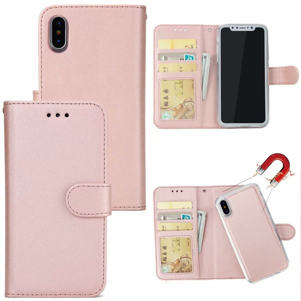 Magnetic Wallet Retro Case For IPhone XS Cover Detachable PU Leather Phone Cases For IPhone XR XS Max X(10) Hoesjes Coque EEMIA