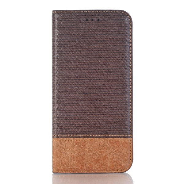 Dark brown case