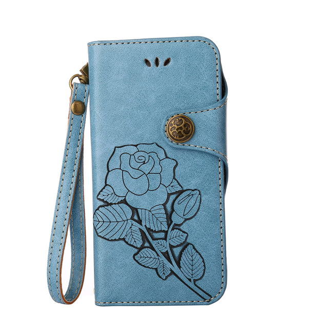 Matcheasy Flower Case For Samsung Galaxy J5 2017 Capa With Card Slot Kickstand Anti-scratch Protect For Galaxy J3 J7 Case Coque