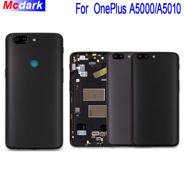 watch fa3b2 a7dae Mcdark For One Plus 5 A5000 Battery Case With Heat Dissipation Replacement  Slim Protective Battery Cover For One Plus 5T A5010