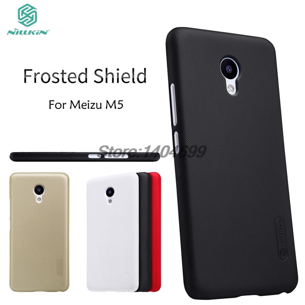 Meizu M5 Case Meizu M5 Mini Matte Cover Nillkin Frosted Shield Hard Back Cover Case For Meizu M5 Mini