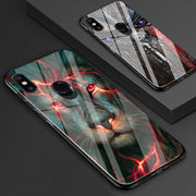 Mi 8 Case Chinese Dragon Lion Wolf World Anti-explode Tempered Glass Back Cover Shock-Proof Case For Xiaomi MI8 MI8 PRO Explorer