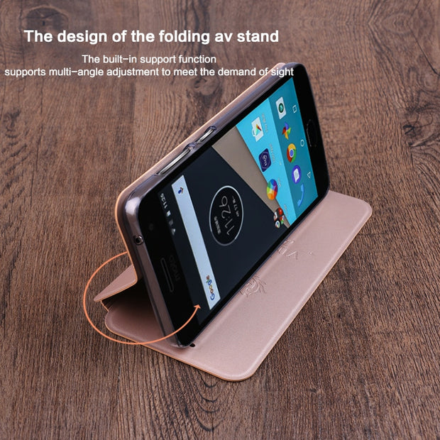 Mofi Luxury Flip Leather Case For MOTO G5S Cases G5S Plus Book Style Cover Cases For Motorola Moto G5S Plus XT1805 XT1806 Cover