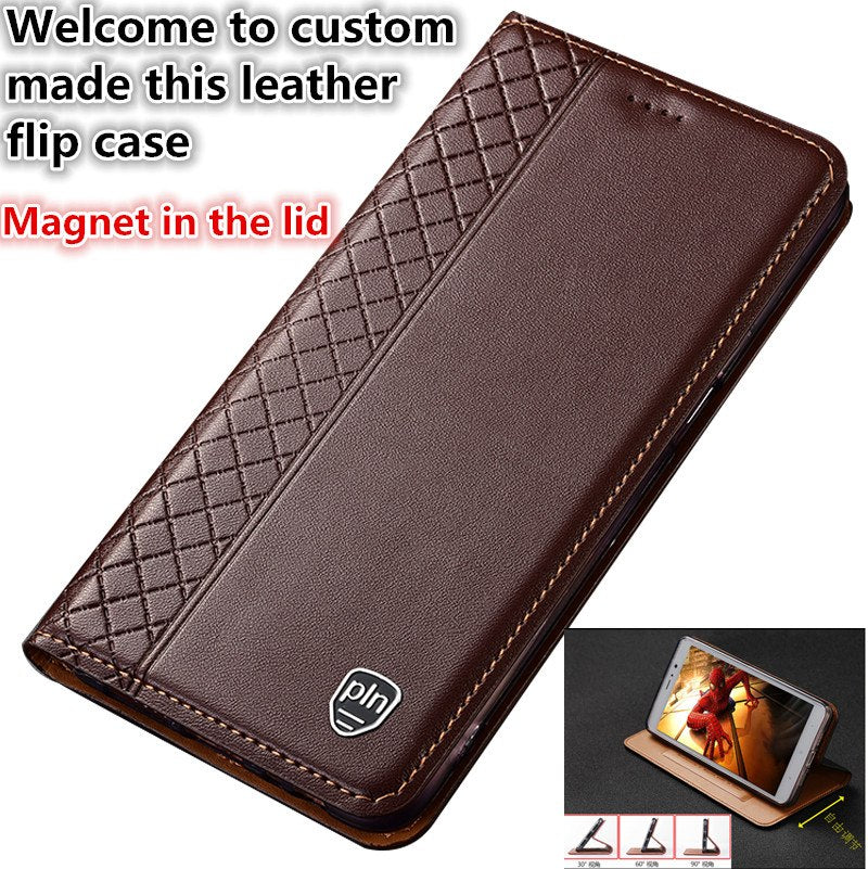pretty nice c9c1f 9f4cd ND11 Genuine Leather Flip Case For HTC U Ultra(5.7') Phone Case For HTC U  Ultra Case With Card Holder Free Shipping