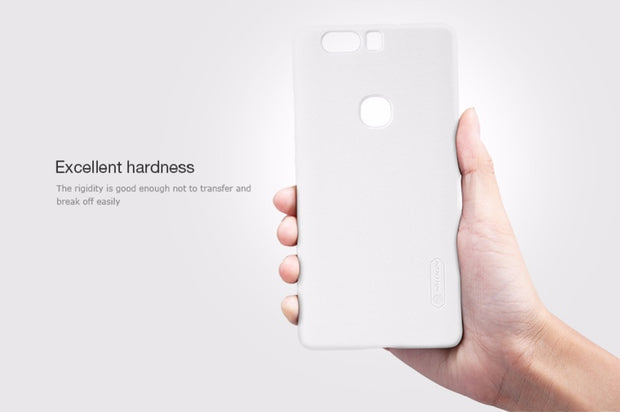 NILLKIN Case For Huawei Honor V8 5.7 Inch Super Frosted Shield Back Cover With Free Screen Protector And Retail Package