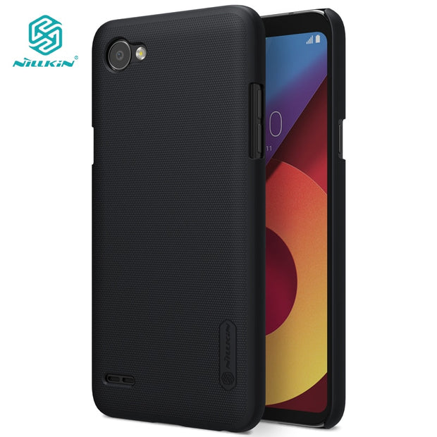 NILLKIN Case For Lg Q6 5.5 Inch Super Frosted Shield Back Cover With Free Screen Protector And Retail Package