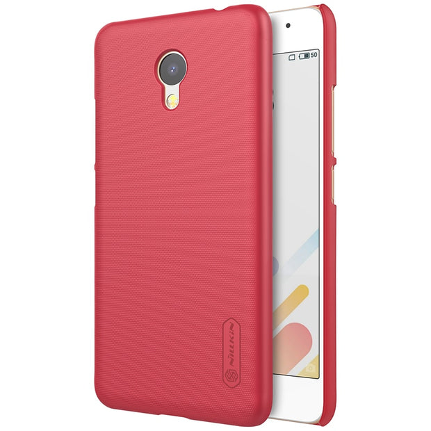 NILLKIN Case For Meizu A5 5.0 Inch Super Frosted Shield Back Cover With Free Screen Protector And Retail Package