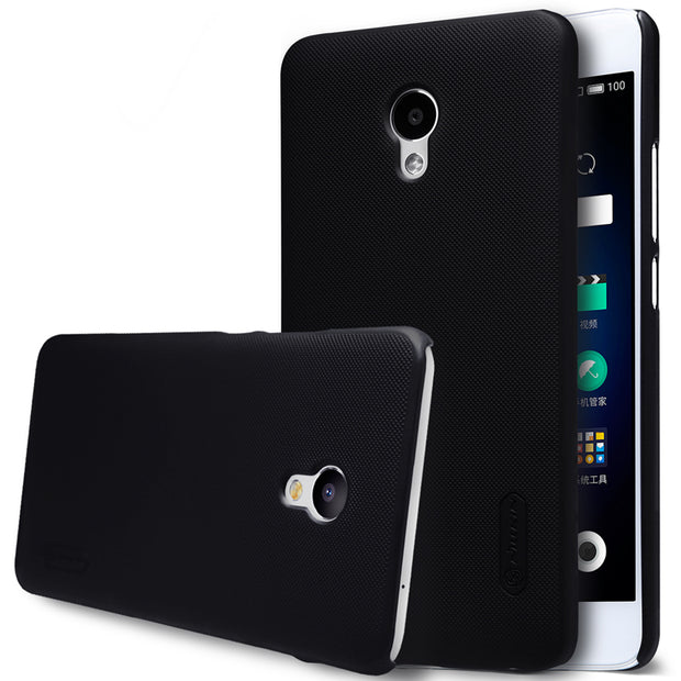 NILLKIN Case For Meizu M3e 5.5 Inch Super Frosted Shield Back Cover With Free Screen Protector And Retail Package