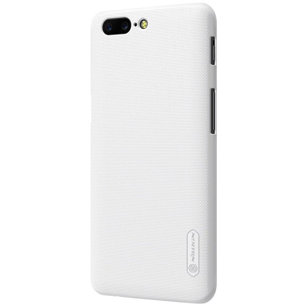 NILLKIN Case For Oneplus 5 5.5 Inch Super Frosted Shield Back Cover With Free Screen Protector And Retail Package