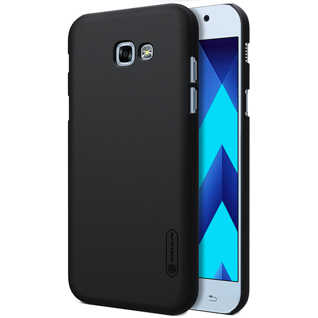 NILLKIN Case For Samsung Galaxy A3 2017 4.7 Inch Super Frosted Shield Back Cover With Free Screen Protector And Retail Package