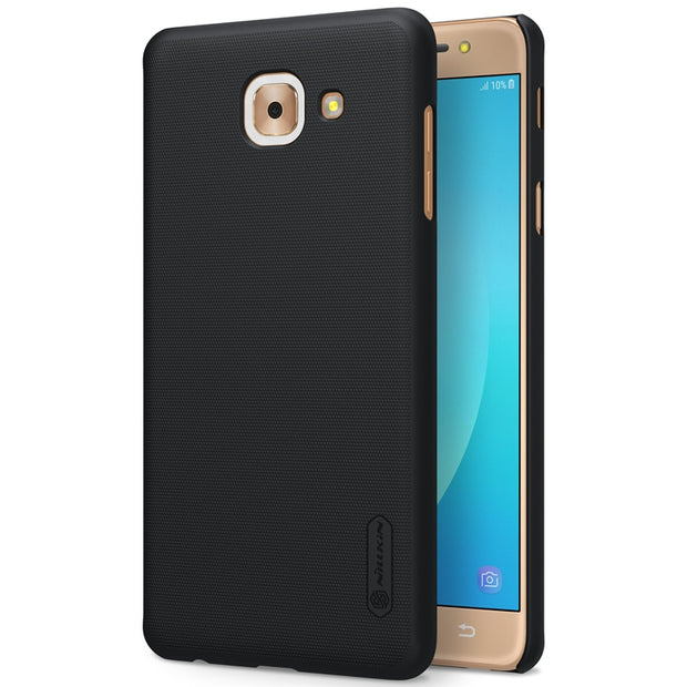 NILLKIN Case For Samsung Galaxy J7 Max 5.7 Inch Super Frosted Shield Back Cover With Free Screen Protector And Retail Package