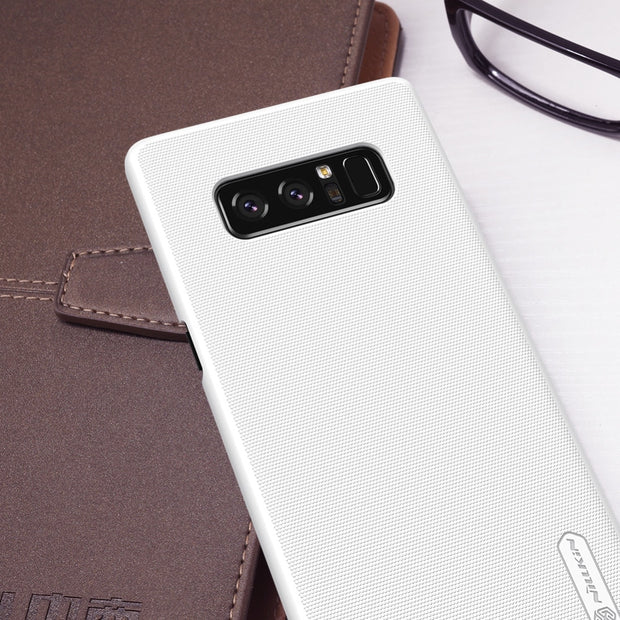 NILLKIN Case For Samsung Galaxy Note 8 6.32 Inch Super Frosted Shield Back Cover With Free Screen Protector And Retail Package