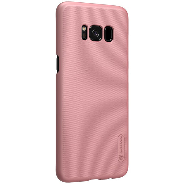 NILLKIN Case For Samsung Galaxy S8 Case 5.8 Inch Super Frosted Shield Back Cover With Free Screen Protector And Retail Package
