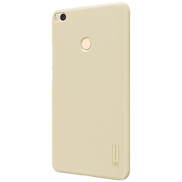 NILLKIN Case For Xiaomi Mi Max2 6.44 Inch Super Frosted Shield Back Cover With Free Screen Protector And Retail Package