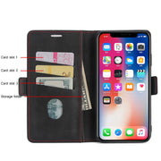 NOWAL Wallet Case For IPhone X XR XS Max 10 6 6S 7 8 Plus For Samsung S9 S8 Plus Note 8 9 PU Leather Card Slots Stand Flip Cover