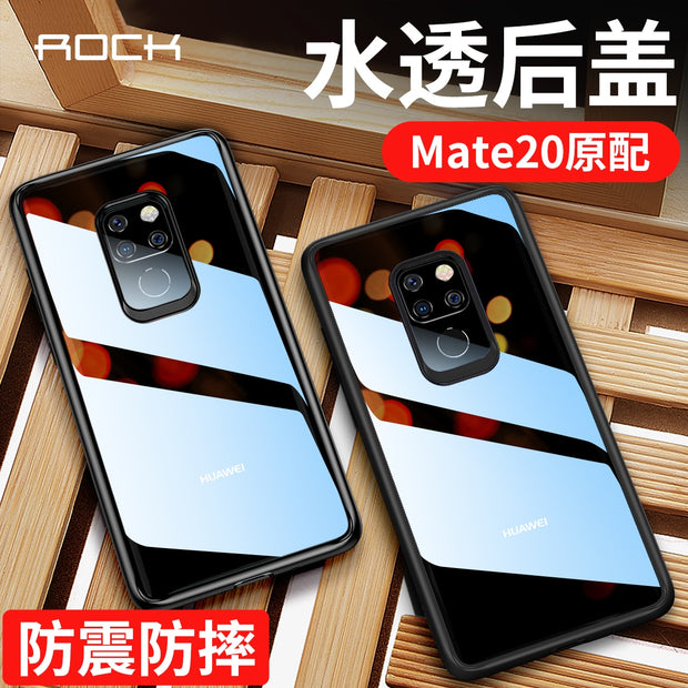 New For Huawei Mate 20 Mate 20 Pro Phone Cases Rock Fashion High Quality Back Covers Soft Tpu Anti-proof Phone Case Coque Capa