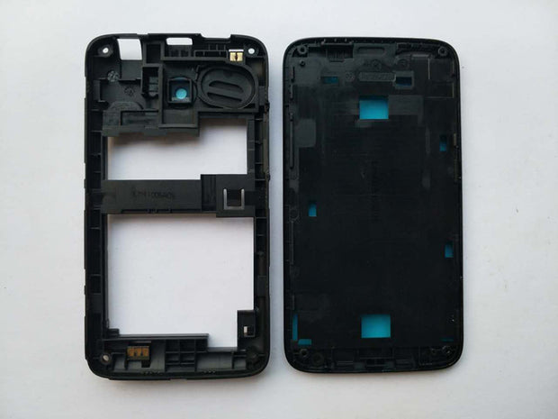 New Front Frame LCD Screen Frame Middle Frame Housing Case For Lenovo A316i With 3M Adhesive+Antenna+Camera Lens