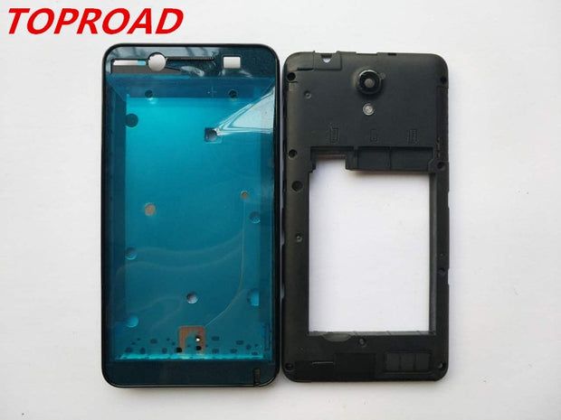 New Front Frame LCD Screen Frame Middle Frame Housing Case For Lenovo A319 With 3M Adhesive+Antenna+Camera Lens