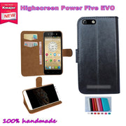 New Item 7 Colors Flip Leather Cover Case For Highscreen Power Five EVO 5.0inch Phone Case Free Drop Shipping