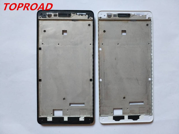 New LCD Holder Screen Front Frame For ZUK Z2 5 Inch Housing Case No Power Volume Buttons