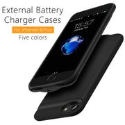 New Ultra Slim 2500mAh Battery Charger Case For IPhone 8 7 6 Battery Case Power Bank Charging Cases Charger External Back Pack