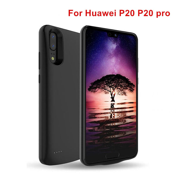 new product fc966 83ec0 Newest Charging Battery Case For Huawei P20 P20 Pro Power Case Cover Power  Bank For Huawei P20 Pro Battery Case