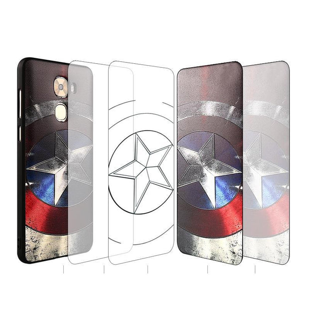Newest For Letv LeEco Le Pro 3 Case, Fashion 3D Stereo Relief Painting Back Cover Soft Silicon Protector For LeEco Le Pro3 Funda