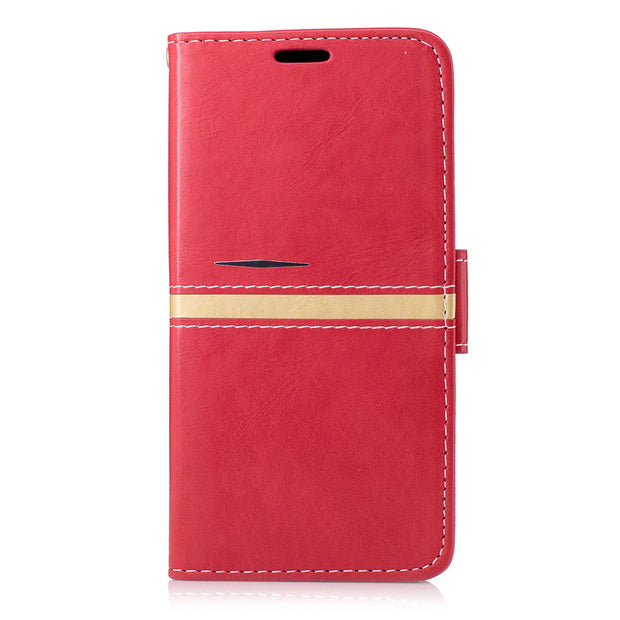 "Newest Fashion Phone Case For Xiaomi Redmi 4 5.0"" Pu Leather Shock Proof Card Holder Cover For Xiaomi Redmi 4 5.0"" Case Red"