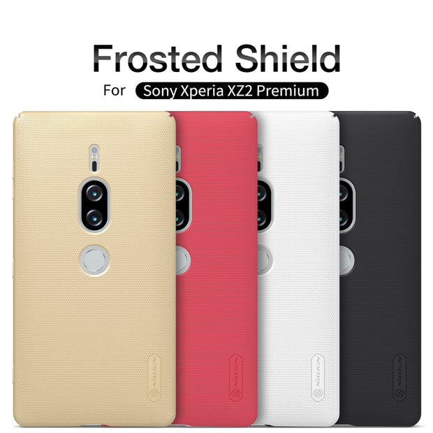 Nillkin Frosted Case For Sony Xperia XZ2 Premium Compact Hard Plastic Back Cover + Gift