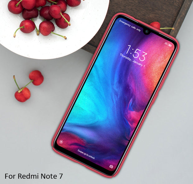 Nillkin Frosted Case For Xiaomi Redmi Note 7 Note 6 Pro Hard Plastic Back Cover