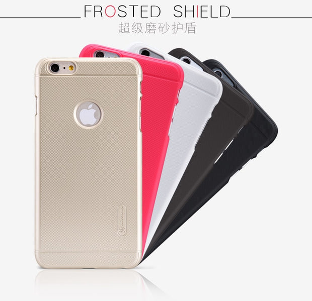 Nillkin Frosted Shield Hard Armor Case For Iphone 6 Plus / 6S Plus Gift