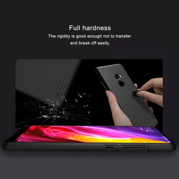 Nillkin Phone Case For Xiaomi MIX 2 Super Frosted Shield Hard Plastic Back Cover Case For Xiaomi Mi MIX 2 Case Cover 5.99 Inch