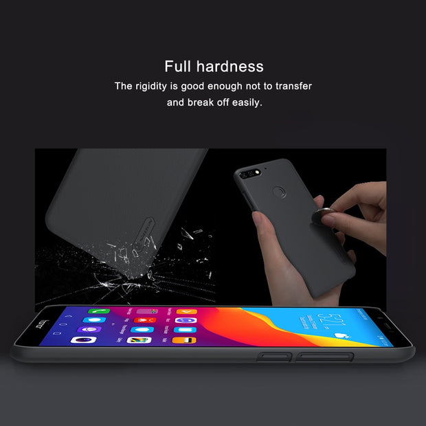 Nillkin Case For Huawei Honor 7C Matte Cover Thin PC Hard Cover For Huawei Enjoy 8 Case